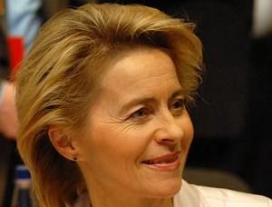 Ursula von der Leyen, Bundesarbeitsministerin, auf dem CDU-Parteitag