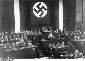 Der Deutsche Reichstag am 23. Mrz 1933, Foto: Bundesarchiv / Wikicommons