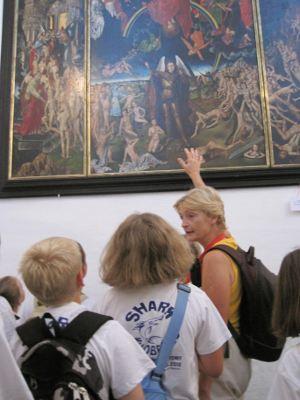 2010 in Gdansk: Schüler lernen mit Hans Memling Sünde, Vergebung und Verdammnis - und Alpträume
