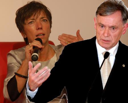 Ernst und wortreich: Margot Käßmann und Horst Köhler