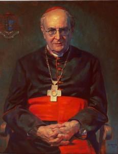 Kardinal Joachim Meisner, Gemälde von Gerd Mosbacher
