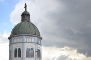 Kirchturm, Photo: Heriberto Herrera