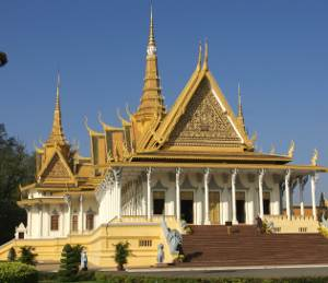 Knigspalast in Phnom Penh, Foto: Eva Schuster
